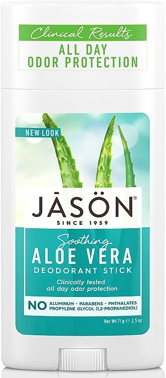 Дезодорант-стик «Алоэ вера» - Jason Natural Cosmetics Pure Natural Deodorant Stick Aloe Vera