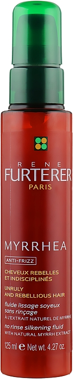 Флюид для придания гладкости волосам - Rene Furterer Myrrhea Anti Frizz No Rinse Silkening Fluid