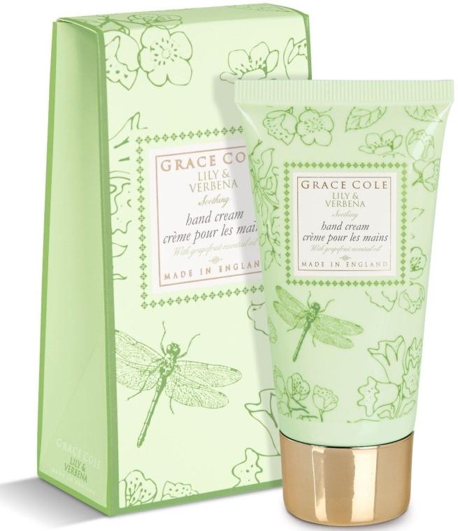 Крем для рук з екстрактом грейпфрутового масла - Grace Cole Floral Collection Hand Cream — фото N1