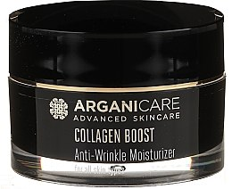 Духи, Парфюмерия, косметика Увлажняющий крем от морщин - Arganicare Collagen Boost Advanced Anti-Wrinkle Moisturizer