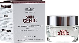 Духи, Парфюмерия, косметика Геноактивный стимулирующий крем на ночь - Farmona Professional Skin Genic