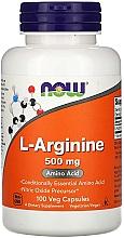 """Духи, Парфюмерия, косметика Аминокислота """"L-Аргинин"""", 500 мг - Now Foods L-Arginine Veg Capsules"""