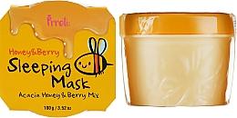 Духи, Парфюмерия, косметика Питательная ночная маска с медом акации и лесными ягодами - Prreti Honey & Berry Sleeping Mask