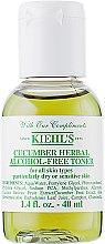 Духи, Парфюмерия, косметика Тоник с огурцом для лица - Kiehl`s Cucumber Herbal Alcohol-Free Toner (тестер)