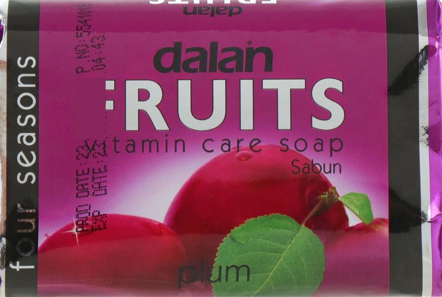 "Туалетное мыло ""Слива"" - Dalan Fruits Soap"