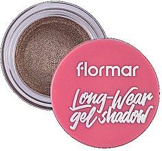 Духи, Парфюмерия, косметика Кремовые тени для век - Flormar Long-Wear Gel Shadow