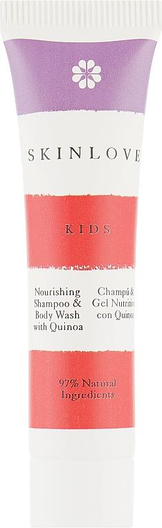 Питательный шампунь-гель для волос и тела с киноа - Skinlove Natural Joy (мини)