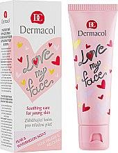 Духи, Парфюмерия, косметика Крем-сорбет успокаивающий и выравнивающий для лица - Dermacol Love My Face Soothing Care For Young Skin