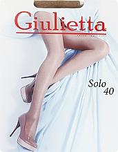 "Духи, Парфюмерия, косметика Колготки для женщин ""Solo"" 40 den, glace - Giulietta"