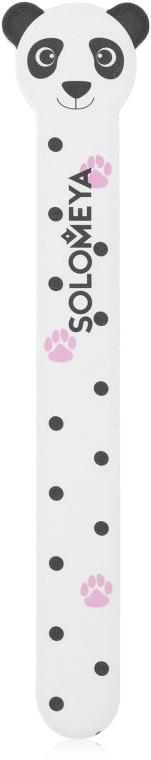 Пилка для натуральных и искусственных ногтей 180/220 - Solomeya Panda