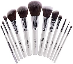 Духи, Парфюмерия, косметика Набор кистей для макияжа - Nanshy Masterful Collection Pearlescent White Brush Set