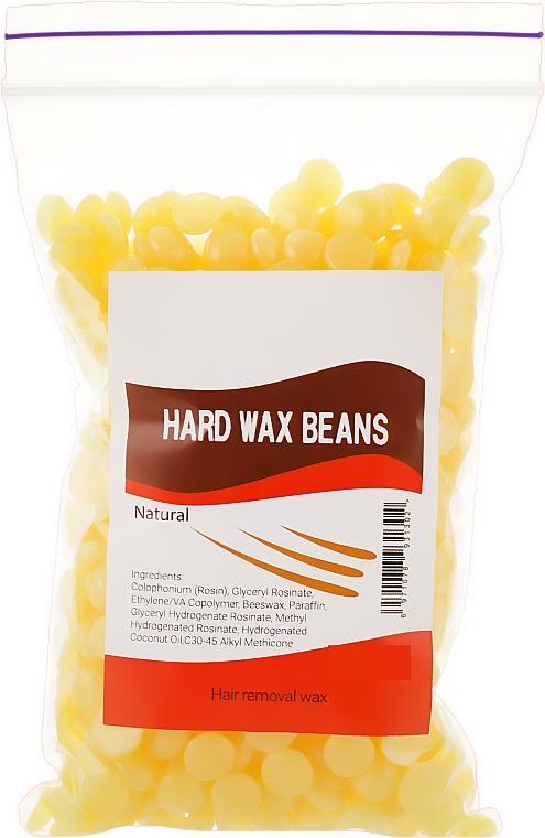 """Пленочный воск в гранулах """"Натуральный"""" - Hard Wax Beans"""