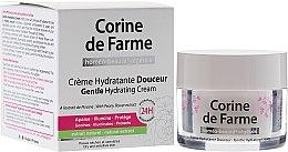 Духи, Парфюмерия, косметика Нежный увлажняющий крем для сухой и чувствительной кожи - Corine de Farme