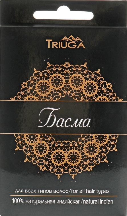 Басма аюрведическая, черная - Triuga