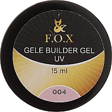 Духи, Парфюмерия, косметика Моделирующий гель-желе - F.O.X Gele Builder Gel UV Pink 004