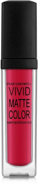Жидкая помада для губ - Etual Cosmetics Vivid Matte Color Sensational