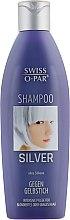 Духи, Парфюмерия, косметика Шампунь для седых и обесцвеченных волос - Swiss-o-Par Silver Shampoo