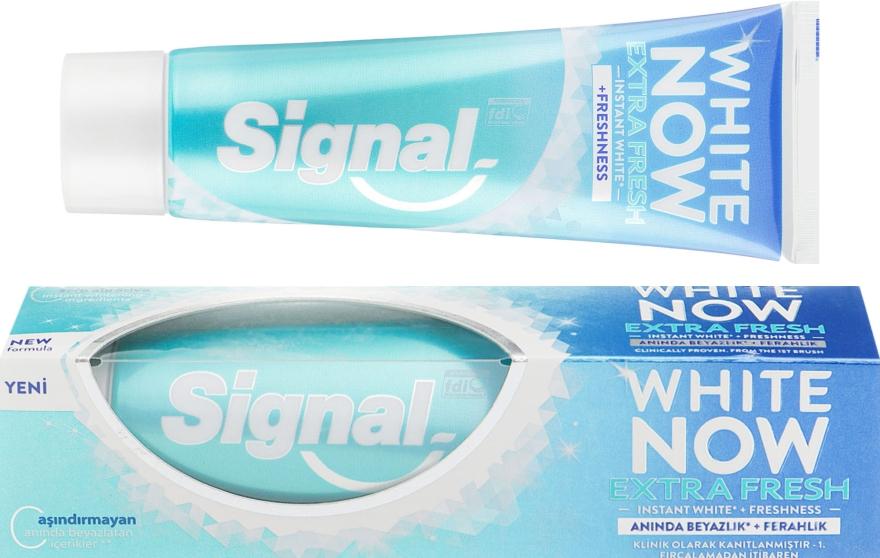 """Зубная паста """"Мгновенное отбеливание"""" - Signal Now White Extra Fresh Toothpaste"""