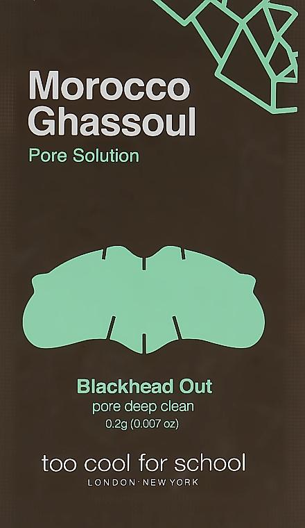 Очищающие полоски для носа - Too Cool For School Morocco Ghassoul Blackhead Out