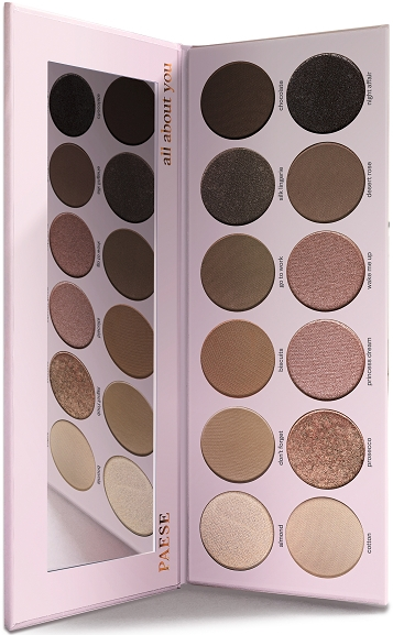 Палетка теней для век - Paese All About You Eyeshadow Palette — фото N5