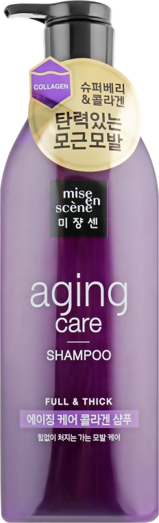 Антивозрастной шампунь для волос - Mise En Scene Aging Care Shampoo