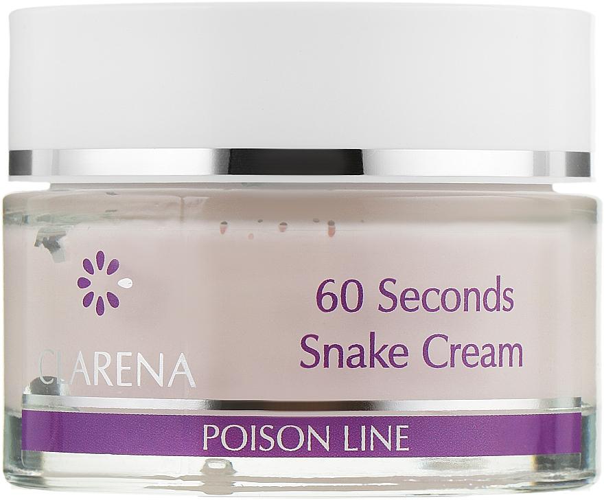 60-секундный крем с ядом кобры - Clarena Poison Line 60 Seconds Snake Cream