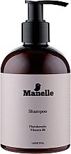 Духи, Парфюмерия, косметика Безсульфатний шампунь с фитокератином и витамином В5 - Manelle Phytokeratin Vitamin B5 Shampoo
