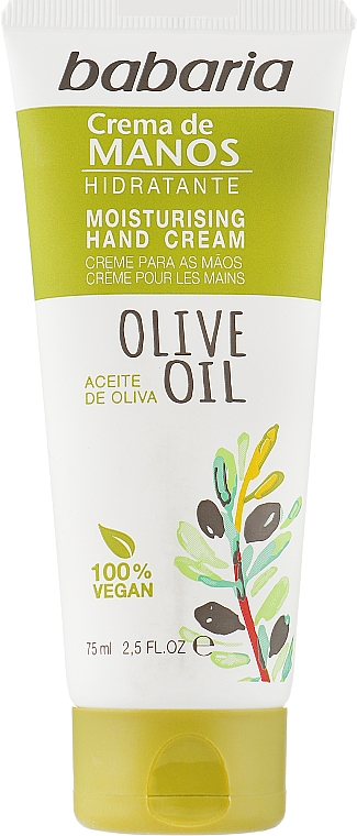 Крем для рук с оливковым маслом - Babaria Hand Cream With Olive Oil