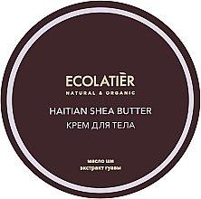"""Духи, Парфюмерия, косметика Крем для тела увлажняющий """"Гаитянское масло ши"""" - Ecolatier Haitian Shea Butter Body Cream"""
