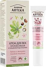 Парфумерія, косметика Крем для повік проти набряків і мішків під очима - Зеленая аптека