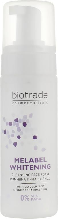 Пена для умывания с отбеливающим эффектом - Biotrade Melabel Cleansing Face Foam