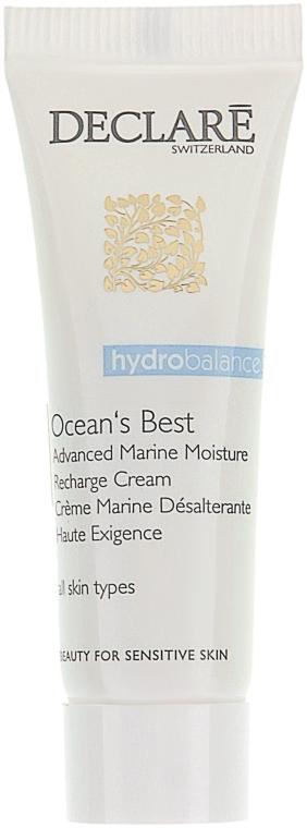 Интенсивный увлажняющий крем с морскими экстрактами - Declare Ocean's Best Advanced Marine Moisture Recharge Cream (мини) — фото N1
