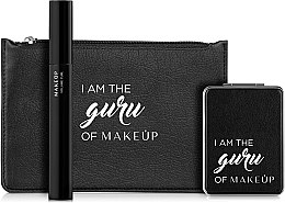 "Парфумерія, косметика Набір - MakeUp Eyes Set ""I am the guru of MakeUp"" (mascara/10.8ml+mirror+bag)"