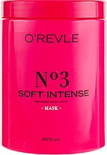 """Духи, Парфюмерия, косметика Маска для волос """"Интенсивная мягкость"""" - O'Revle Soft Intense Mask №3"""