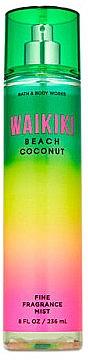 Парфюмированный спрей для тела - Bath and Body Works Waikiki Beach Coconut