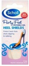 Духи, Парфюмерия, косметика Гелевые подушечки для задника обуви от натирания пяток - Scholl Party Feet Invisible Gel Shields Back of Heels