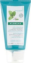 Духи, Парфюмерия, косметика Бальзам для волос - Klorane Anti-Pollution Protective Conditioner With Aquatic Mint