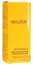Духи, Парфюмерия, косметика Гоммаж двойное сияние - Decleor Life Radiance Double Radiance Scrub