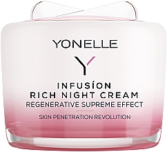 Духи, Парфюмерия, косметика Ночной крем для лица и шеи - Yonelle Infusion Rich Night Cream