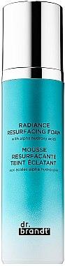 Омолаживающая пенка с альфа-гидрокислотами - Dr. Brandt Skincare Radiance Resurfacing Foam — фото N1