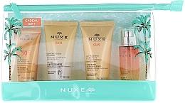 Парфумерія, косметика Nuxe Sun Eau Delicieuse Parfumante - Набір (cr/30ml + shm/50ml+milk/50ml+fr/water/30ml)
