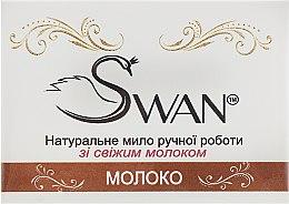 """Духи, Парфюмерия, косметика Натуральное мыло ручной работы """"Молоко"""" - Swan"""