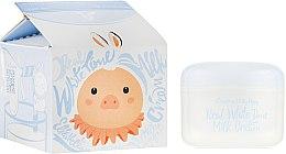 Духи, Парфюмерия, косметика Крем для лица осветляющий - Elizavecca Milky Piggy Real White Time Milk Cream