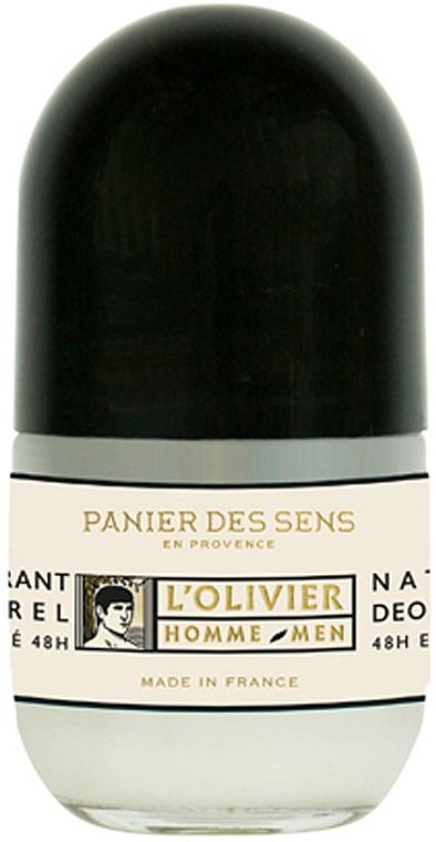 Натуральный дезодорант мужской - Panier des Sens L'Olivier Natural Deodorant