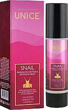 Парфумерія, косметика Омолоджувальний крем для шкіри навколо очей і зони декольте - Unice Snail Eye Contour And Decollete Cream