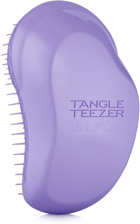 Расческа для густых и вьющихся волос, сиреневая - Tangle Teezer Thick & Curly Lilac Paradise