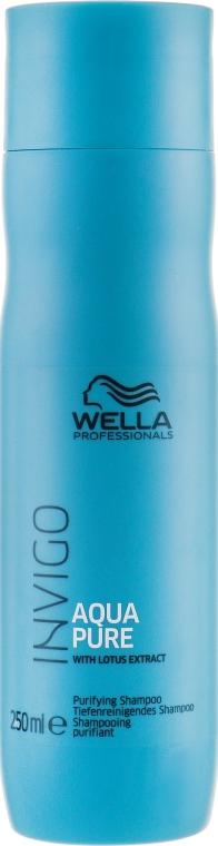 Очищающий шампунь - Wella Professionals Invigo Balance Aqua Pure Purifying Shampoo