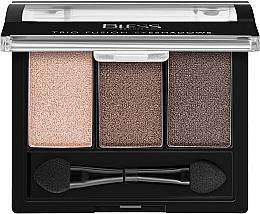 Духи, Парфюмерия, косметика Тройные тени для век - Bless Beauty Trio Fusion Eyeshadows