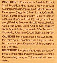 Очищающая пенка с муцином улитки - The Orchid Skin Premium Snail Foam — фото N4