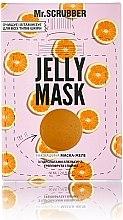 Духи, Парфюмерия, косметика Гелевая маска для лица с гидролатами грейпфрута, апельсина и лайма - Mr.Scrubber Jelly Mask
